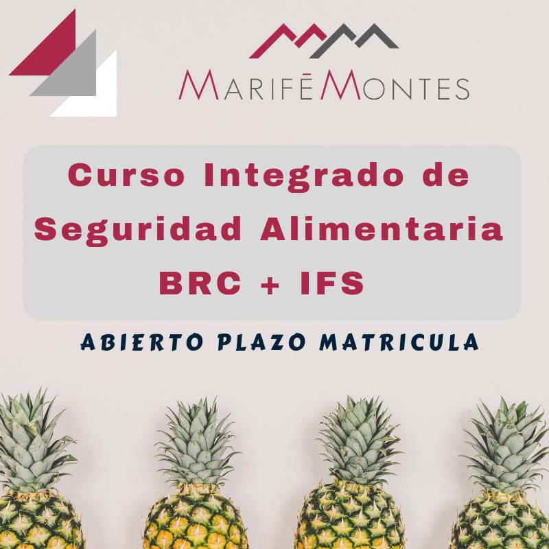 Curso Integrado de Seguridad Alimentaria bajo BRC + IFS