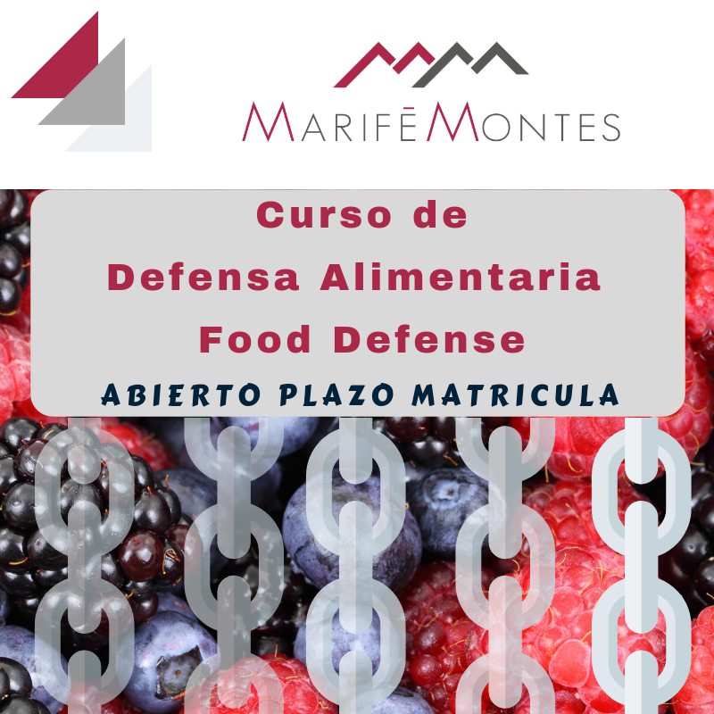 Curso Food Defense -  Defensa Alimentaria
